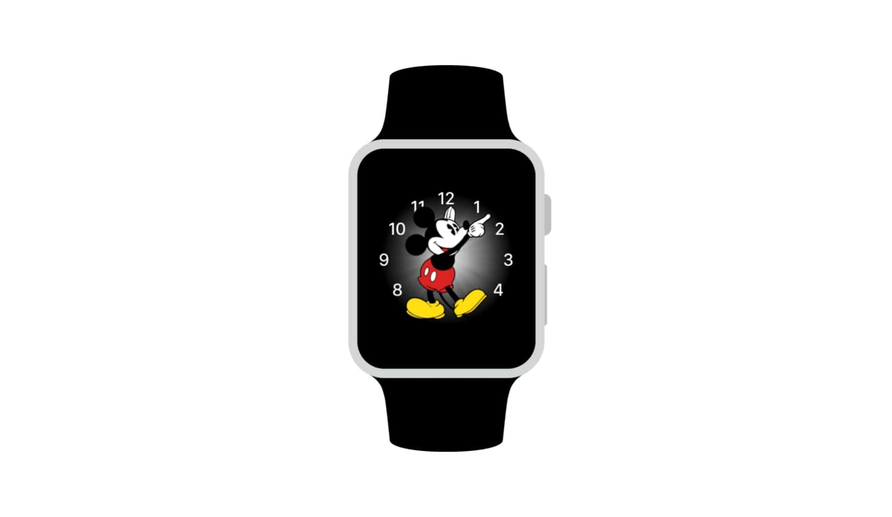 Apple WatchOS 3 wish Mickey Mouse Face