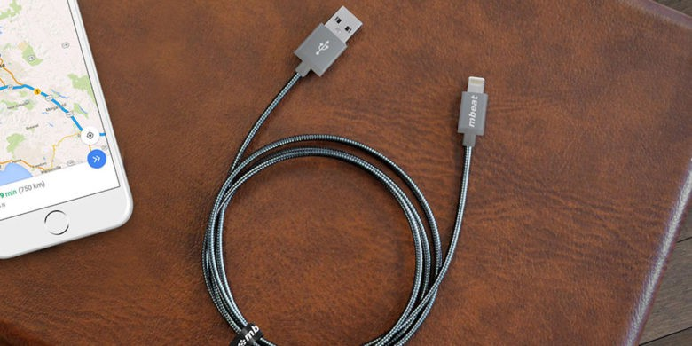 CoM - Toughlink MFi-Certified Metal Braided Lightning Cable