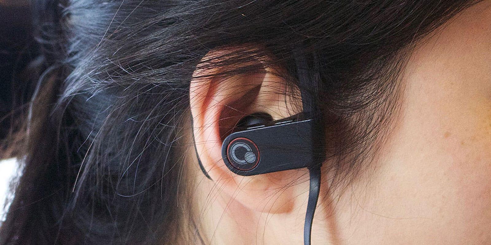 Que Bluetooth earbuds In-Ear Headphones- 2-Pack