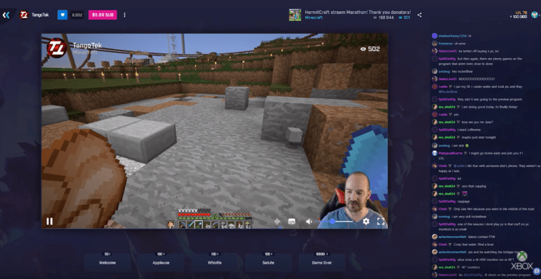 Mixer offers live-streaming that's actually live.