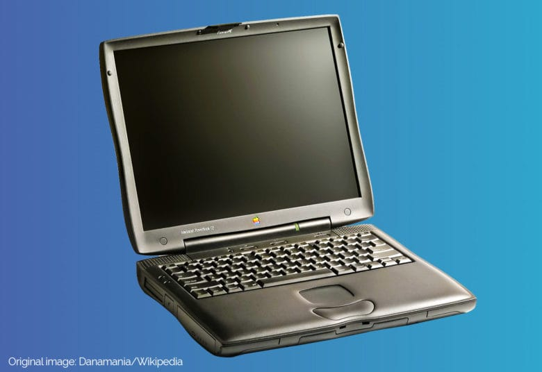 The PowerBook G3 Lombard brought a