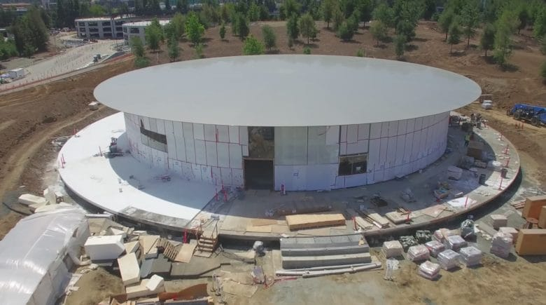 The Steve Jobs Theatre still isn't ready to host events.
