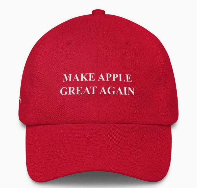 This Red Hat Aims To Make Apple Great Again Cult Of Mac