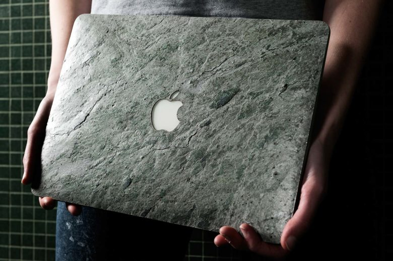 Giving your MacBook a stone-cold look.