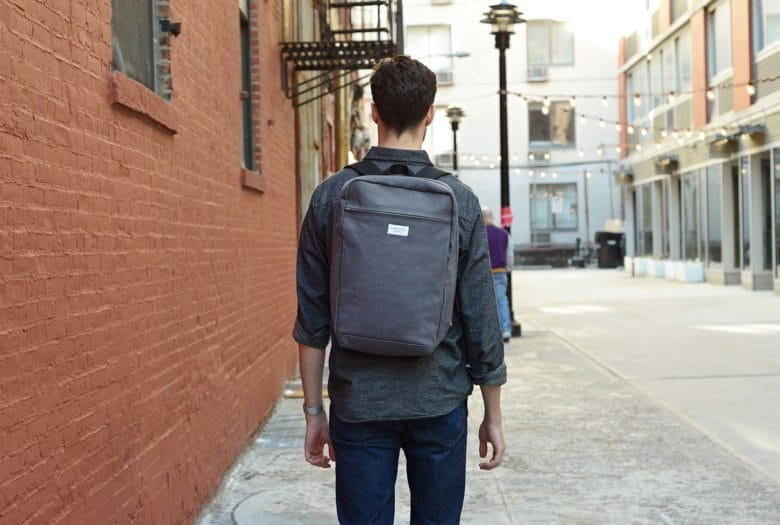 Slim, yes, but this bag can haul your daily carry.