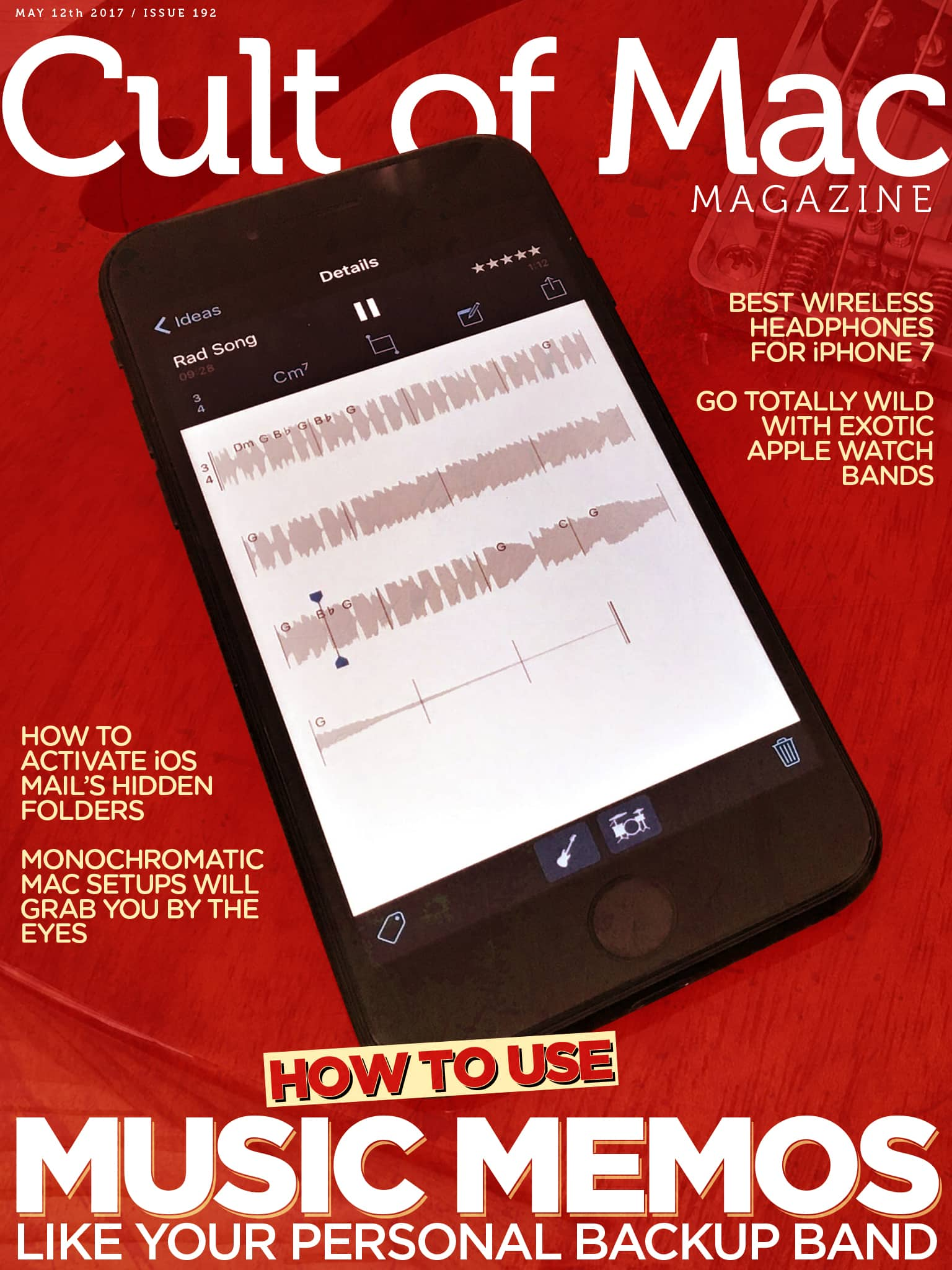 Your weekend reading is here! Check out Cult of Mac Magazine's latest issue for all the latest on Music Memos, screaming deals, monochromatic Mac setups, and more.