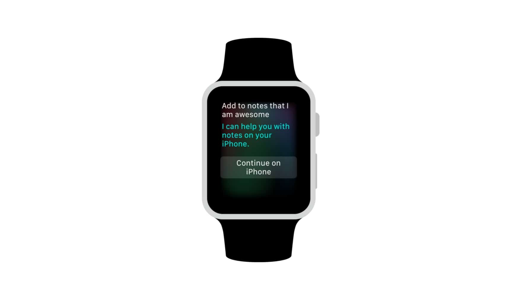 Notes app on watchOS 3