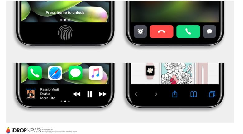 Apple iPhone 8 Trying Too Hard To Not Be Galaxy S8