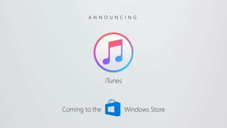 The Windows Store is getting iTunes.