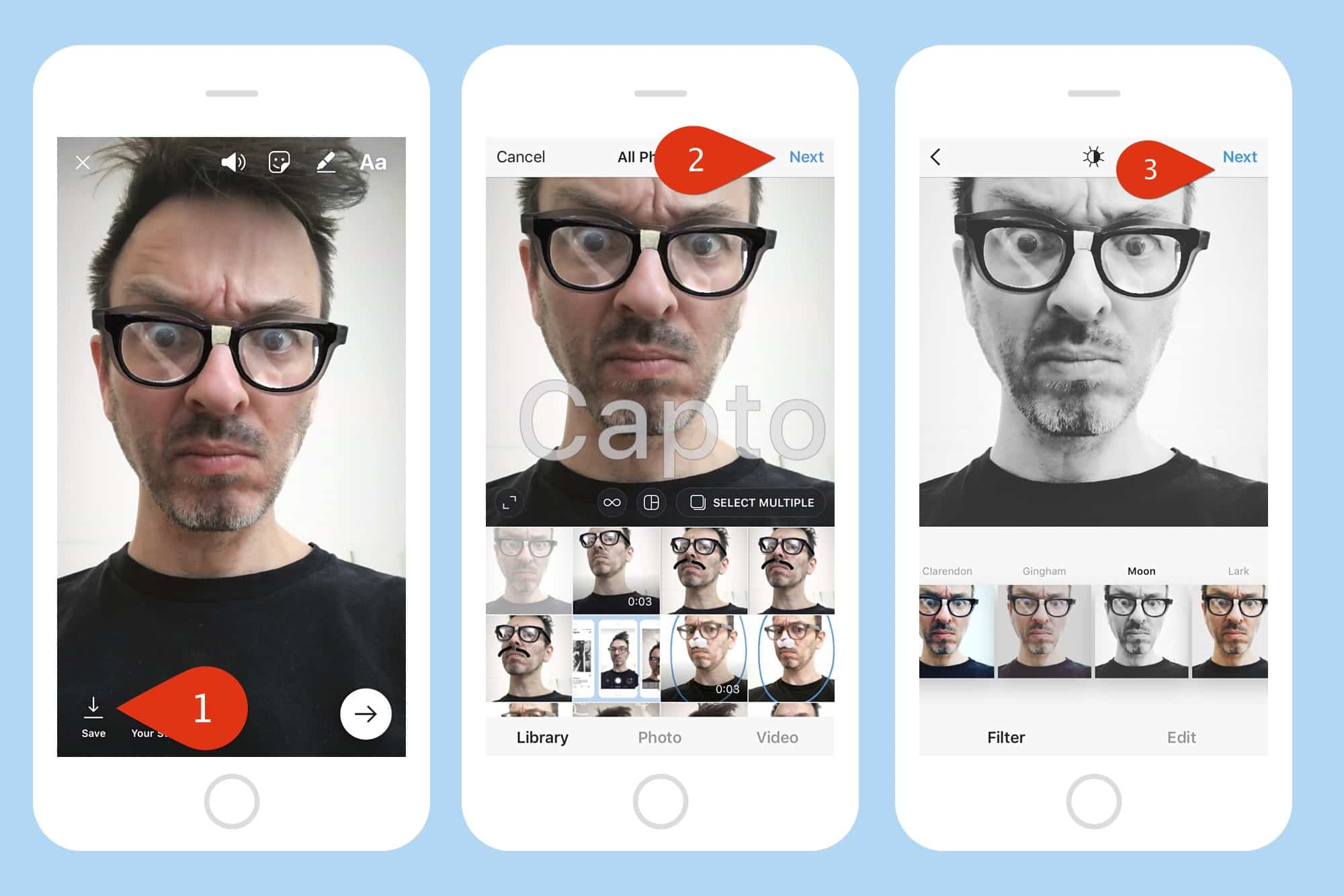 How to use Instagram Face Filters, and post them to your