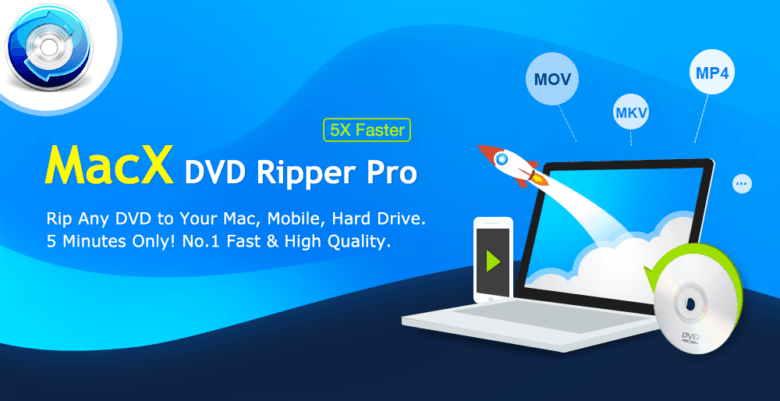 Got a pile of DVDs to convert? Try MacX DVD Ripper Pro for free.