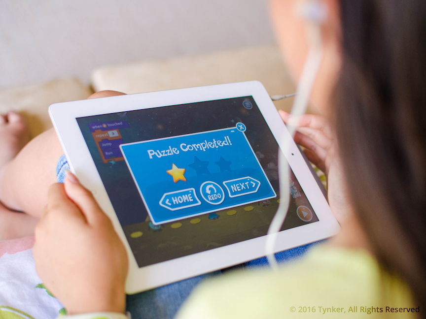 Tynker's new apps make coding fun.