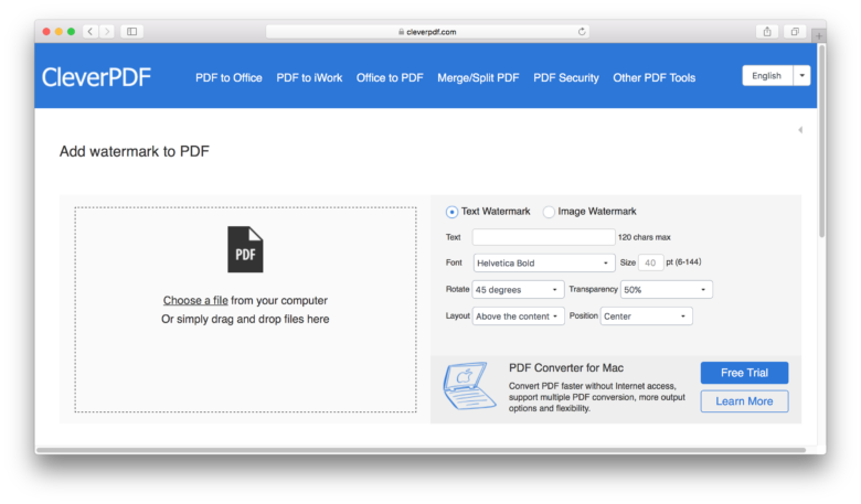 convert pdf to 8.5 x 11 mac