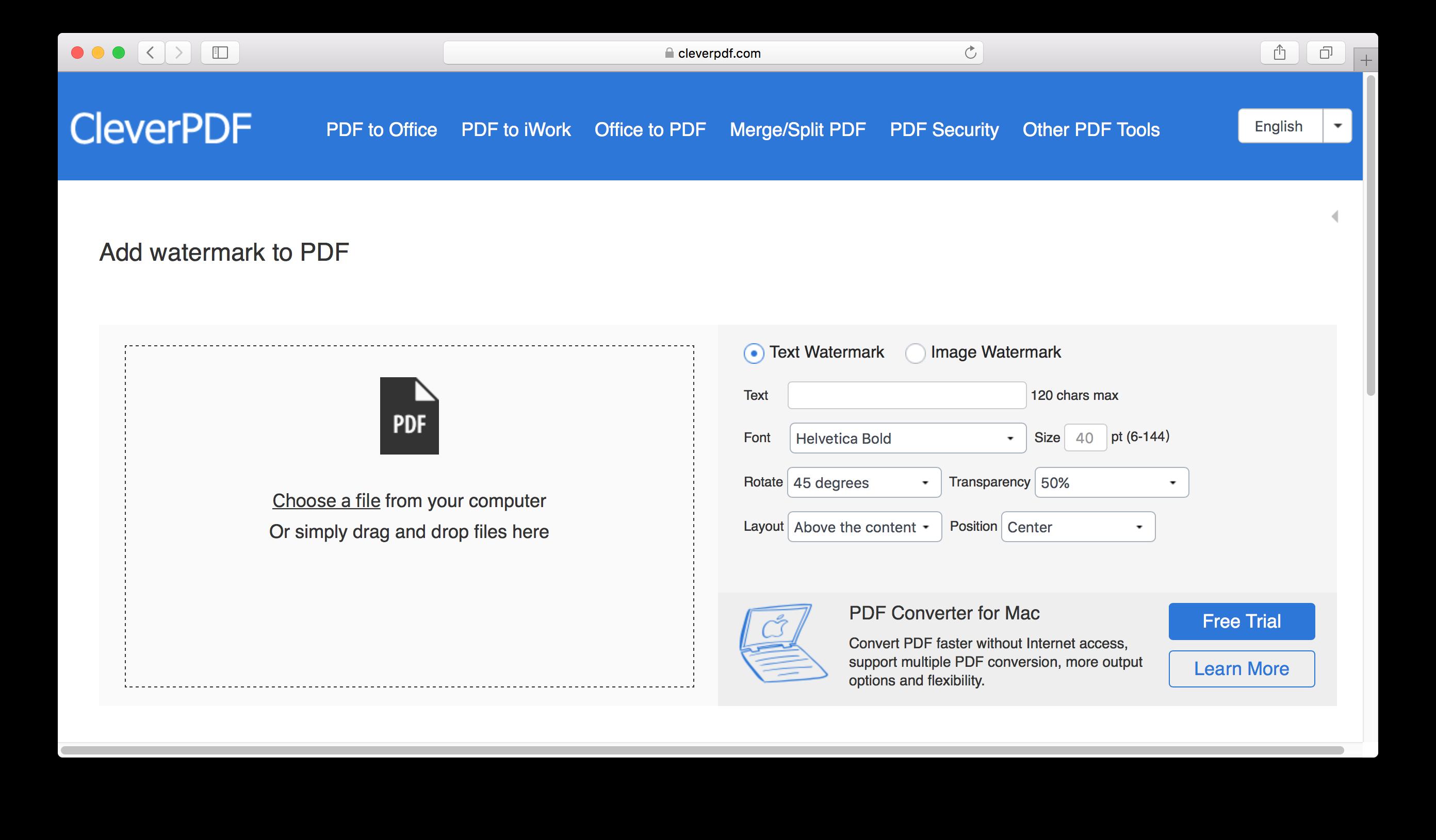 Edit pdf mac free trial