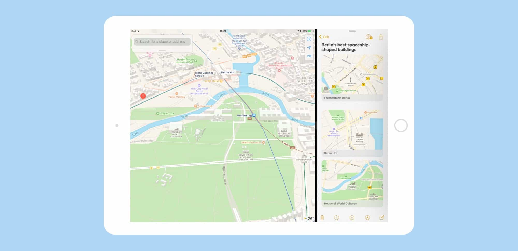 drag and drop maps iOS 11