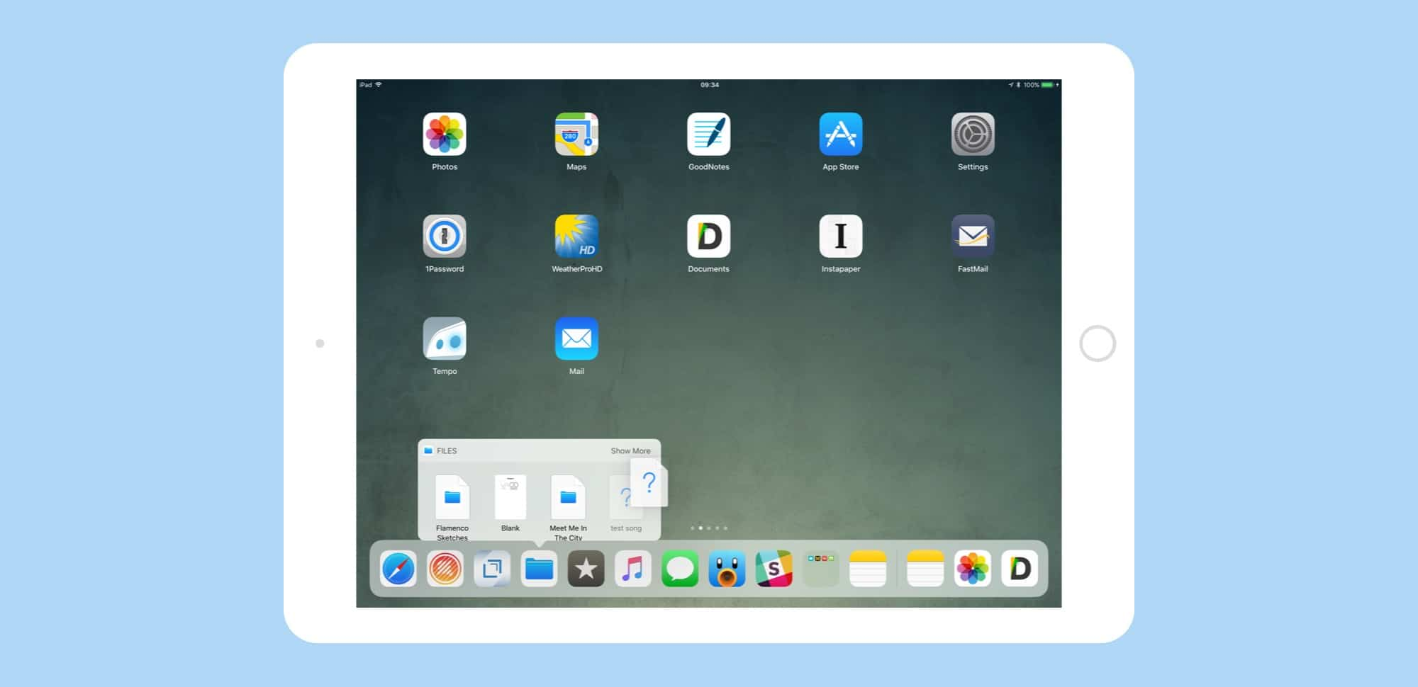 drag drop iOS 11 dock