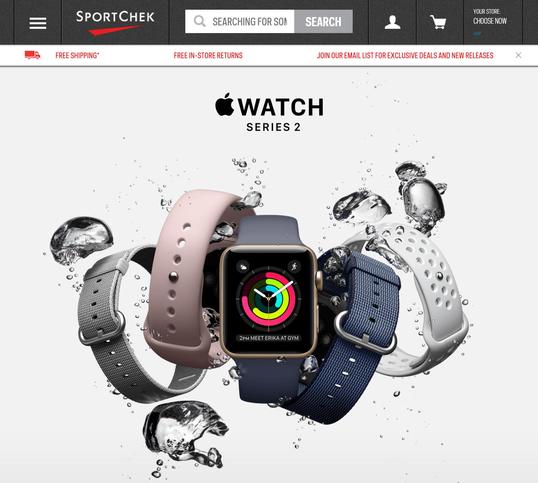 Apple Watch Sport Chek