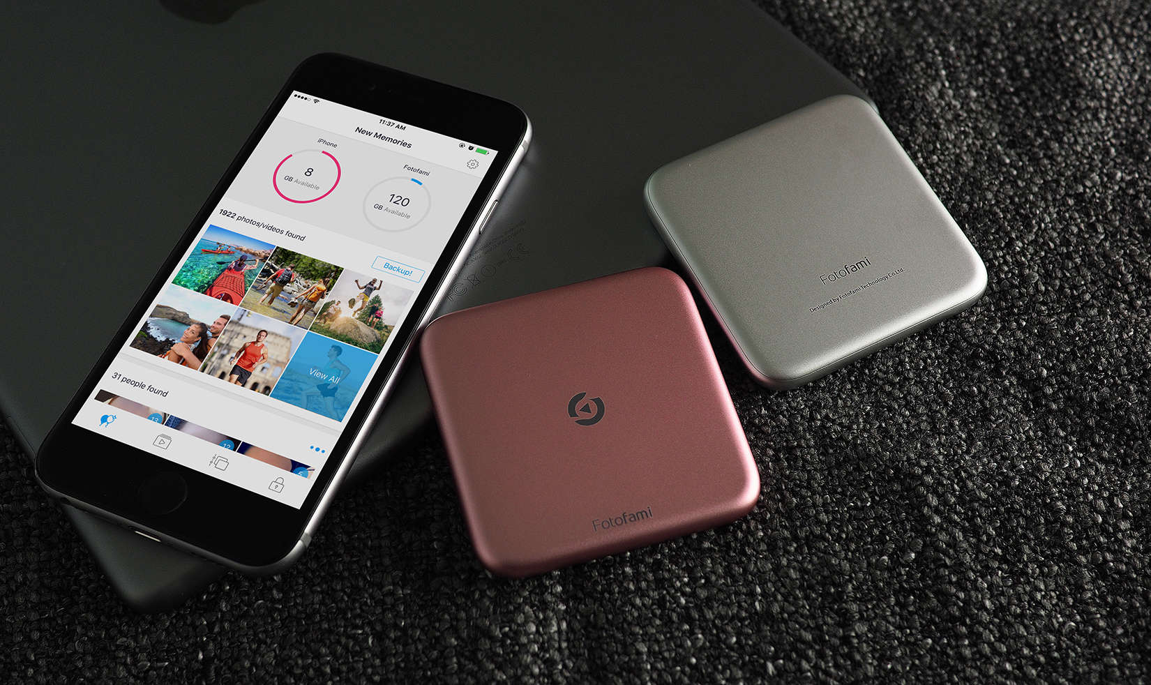 No Wi-Fi, no cloud with this iPhone photo and video storage solution.