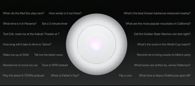 HomeKit compatibility will turn the HomePod into a smart home hub.