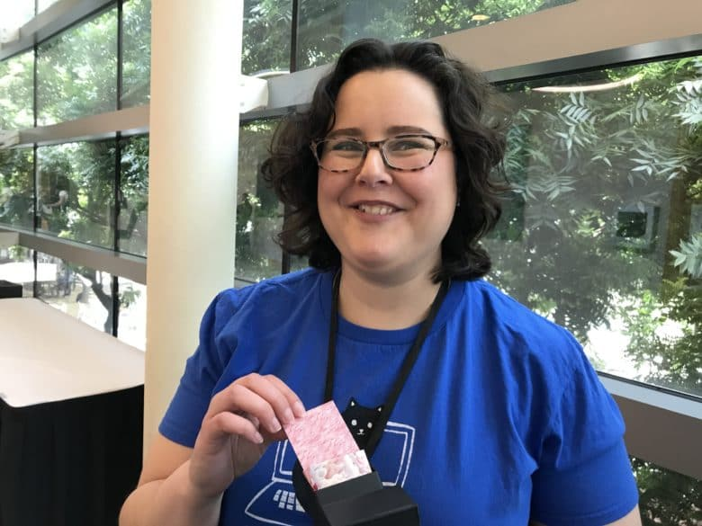 Programmer Jessica Dennis at AltConf