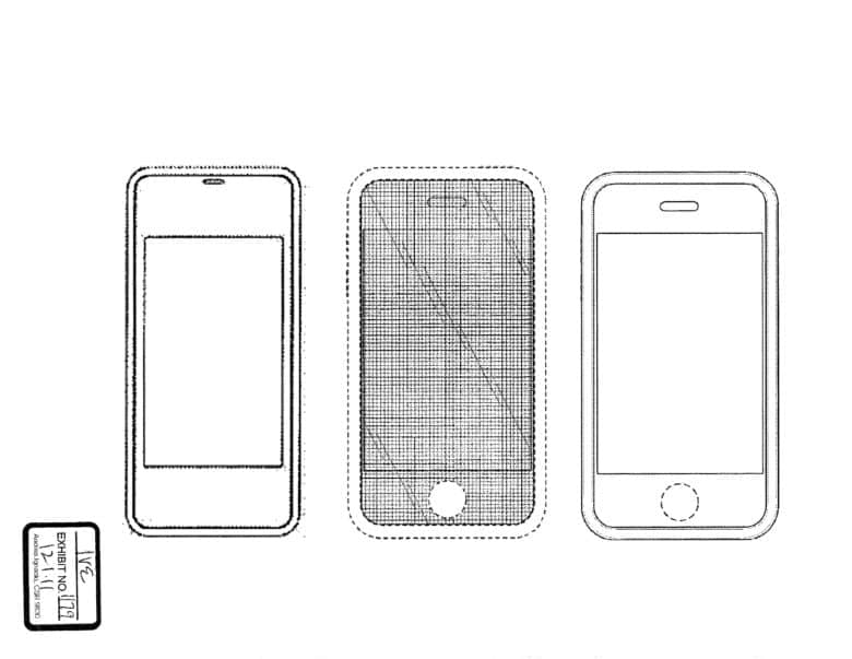 Jony ive sketch of first iPhone