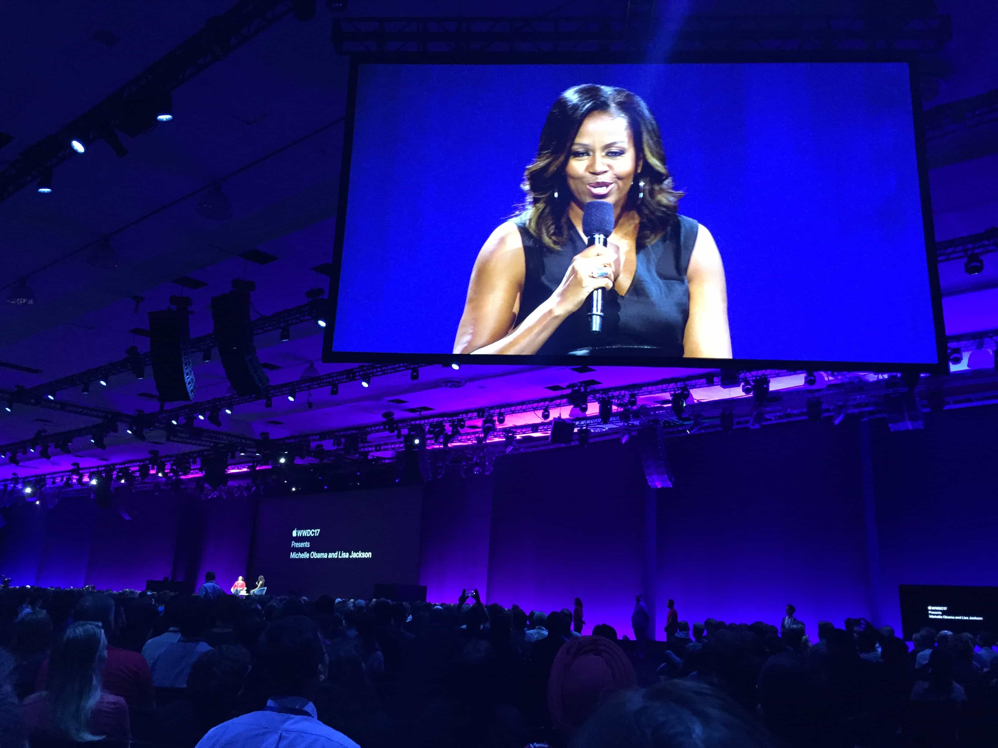 Michelle Obama at WWDC