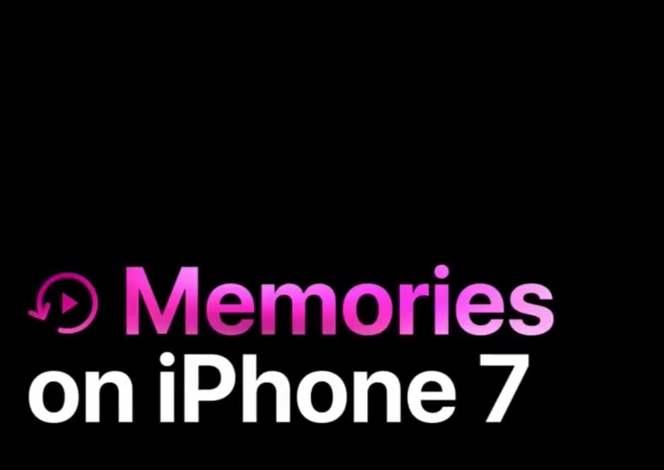 Memories on iPhone