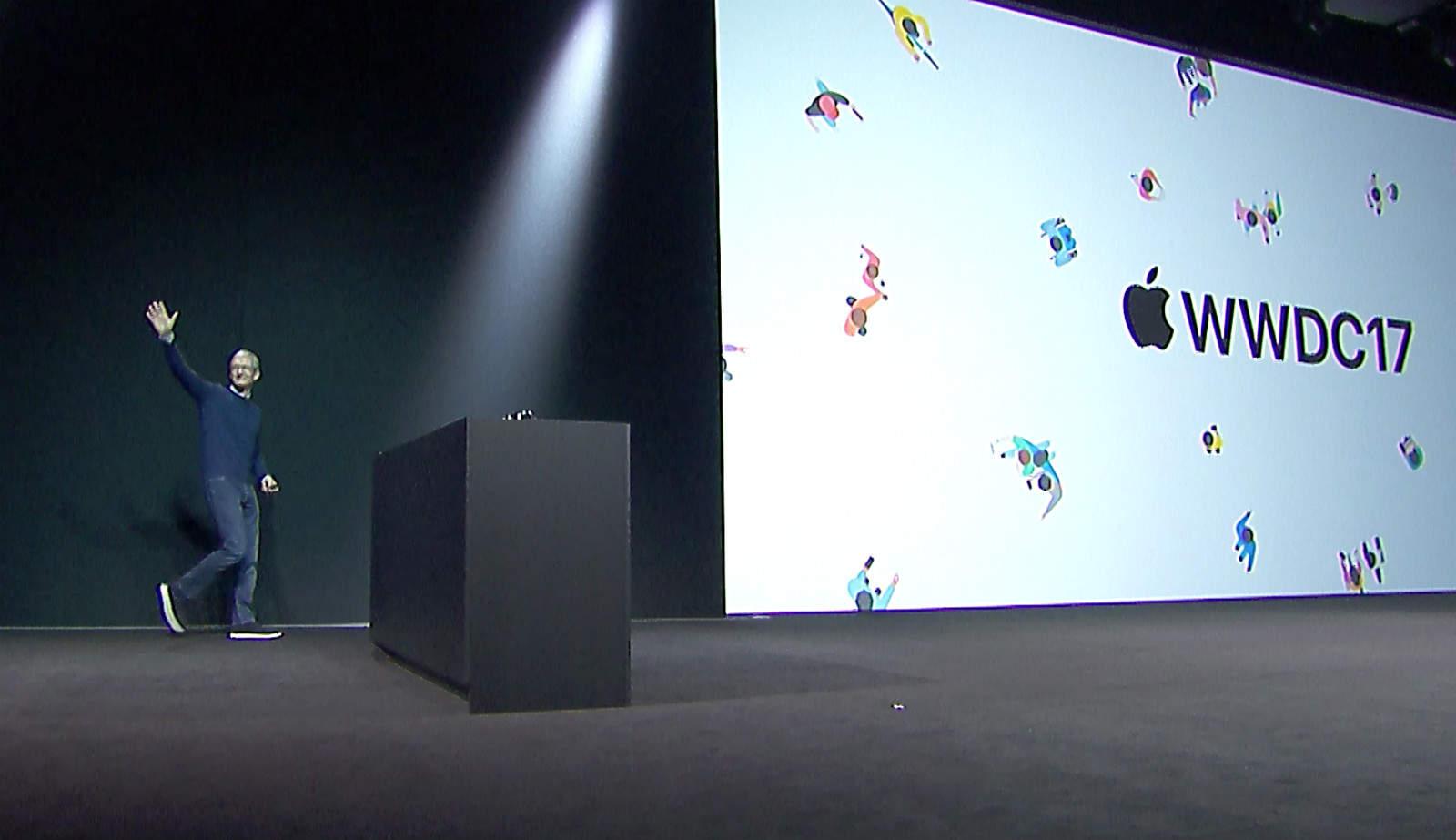 Tim Cook WWDC 2017