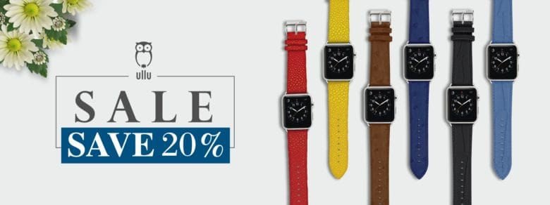 Ullu Apple Watch bands