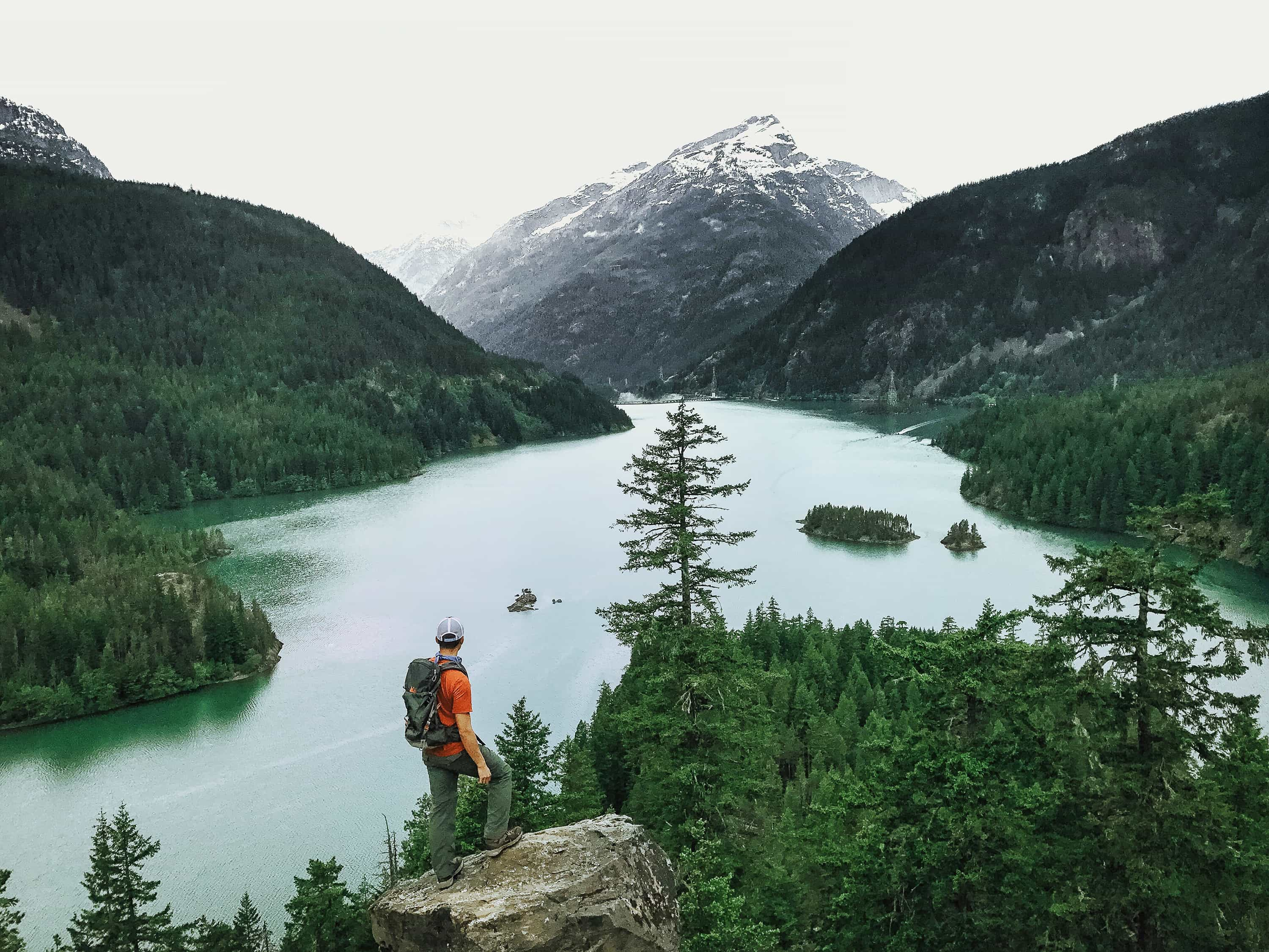 Diablo Lake in North Cascades National Park shot by Kevin Lu on iPhone 7 Plus.