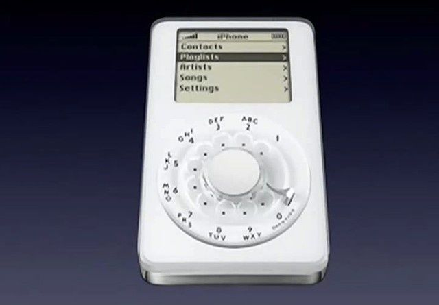 A Click Wheel iPhone? This could have been your first-gen iPhone.