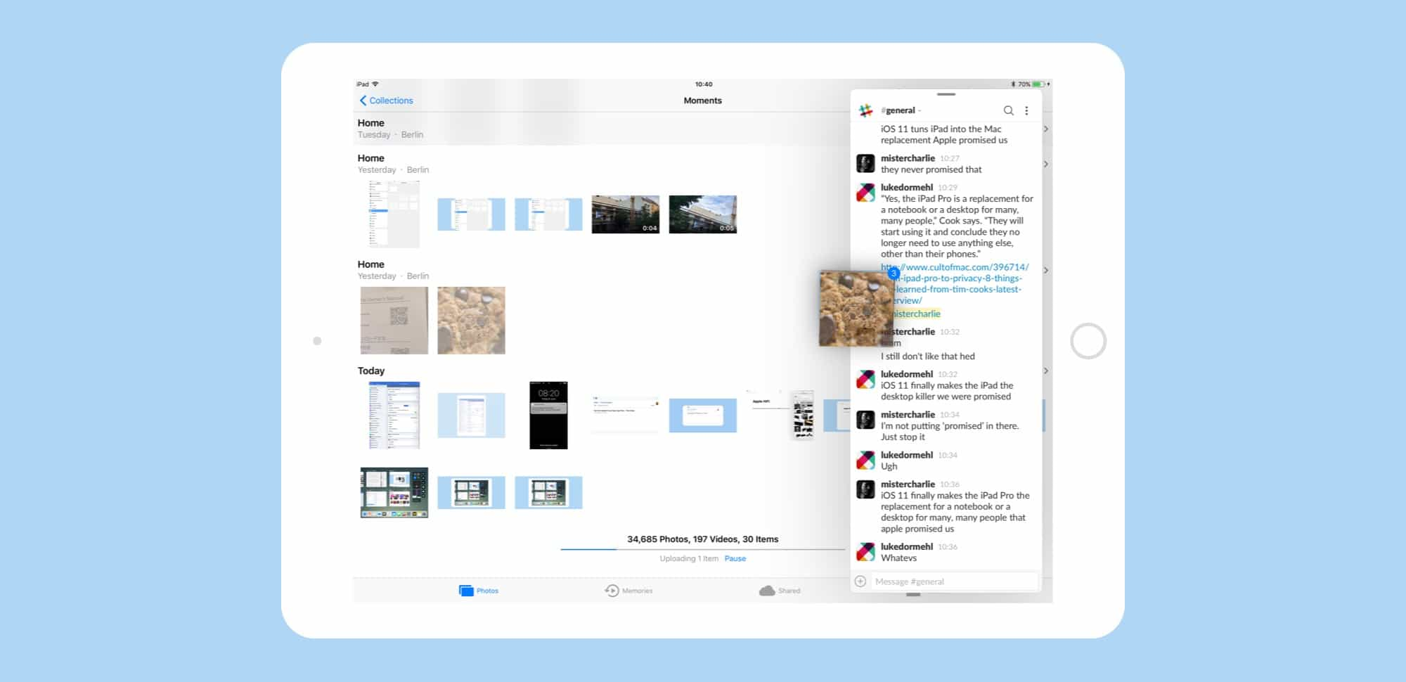 ios 11 turns the ipad into a legit mac replacement cult of mac