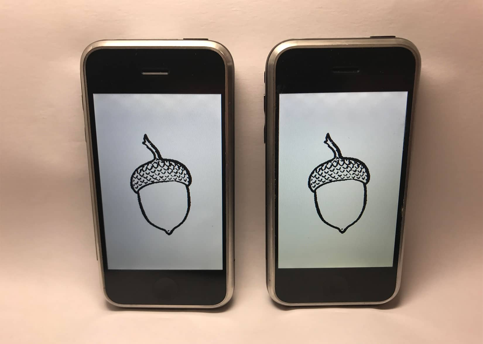 iPhone prototypes