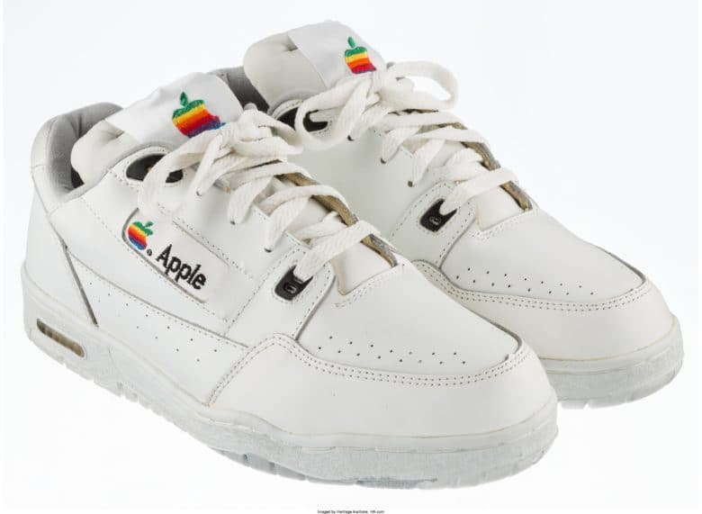 e37a2cb466f0d Ultra-rare Apple sneakers will sell for big bucks at auction | Cult ...