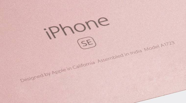 iPhone assembled in India