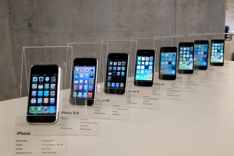 A collection of iPhones, presented as a 30th birthday present to MacPaw CEO Oleksandr Kosovan, fills a critical hole in his private Apple museum