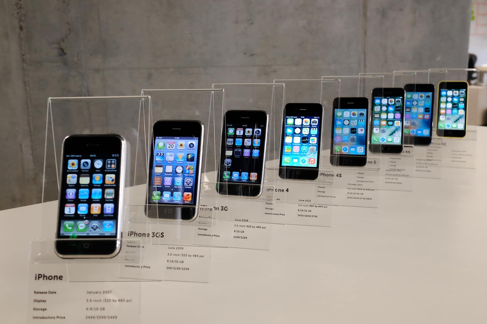 iPhones at MacPaw museum
