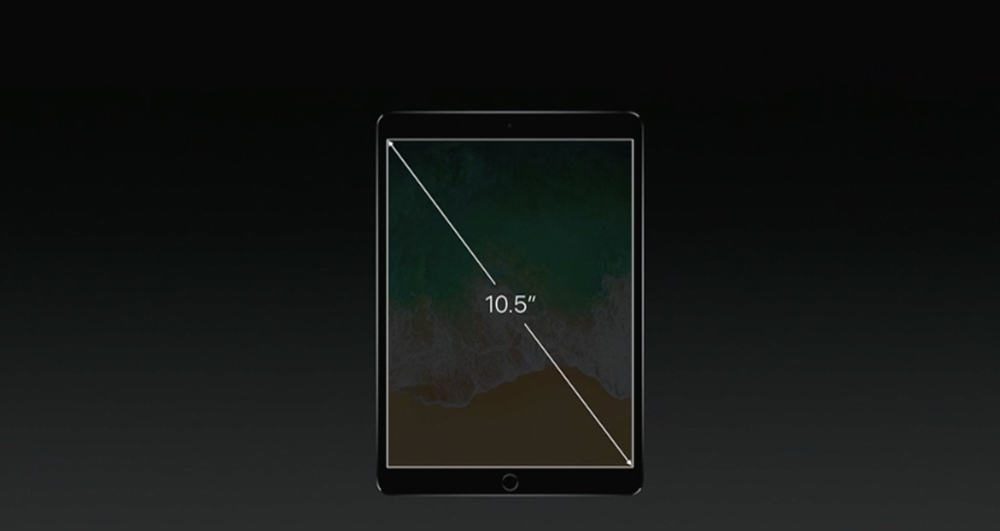 The 10.5-inch iPad Pro brings a bigger display in a familiar form factor.