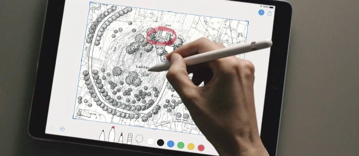 Apple Pencil wwdc 2017
