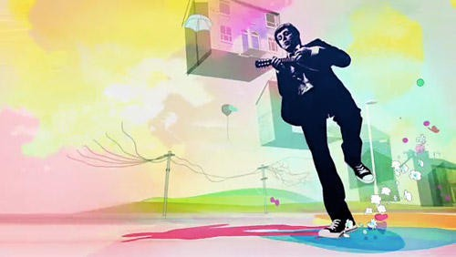 An vividly animated Apple ad showcases Paul McCartney's