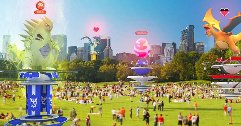 Multiplayer raids are coming to Pokémon GO this summer.