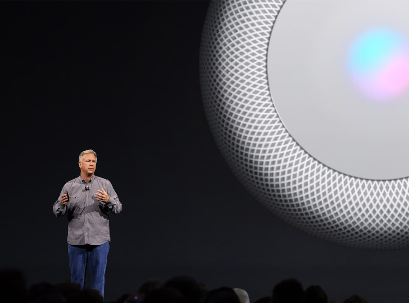 Phil Schiller said Apple won't release the HomePod till it's satisfied with the quality.