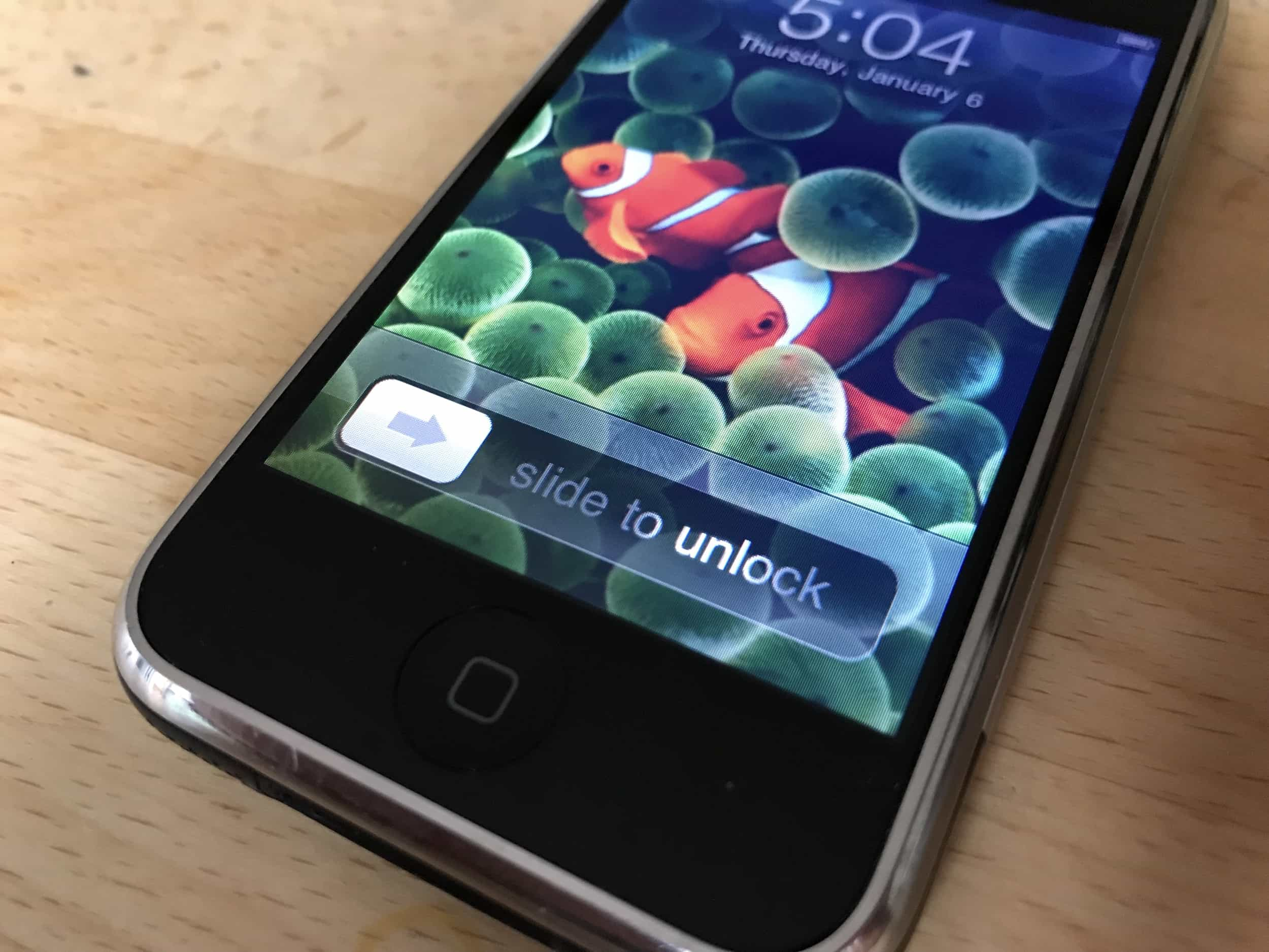 The Inside Story Of IPhones Slide To Unlock Gesture