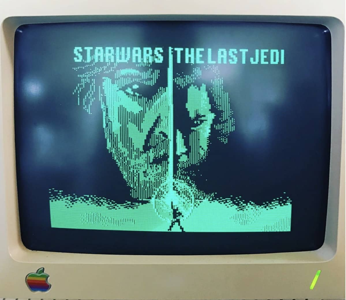 Star Wars on Apple IIc