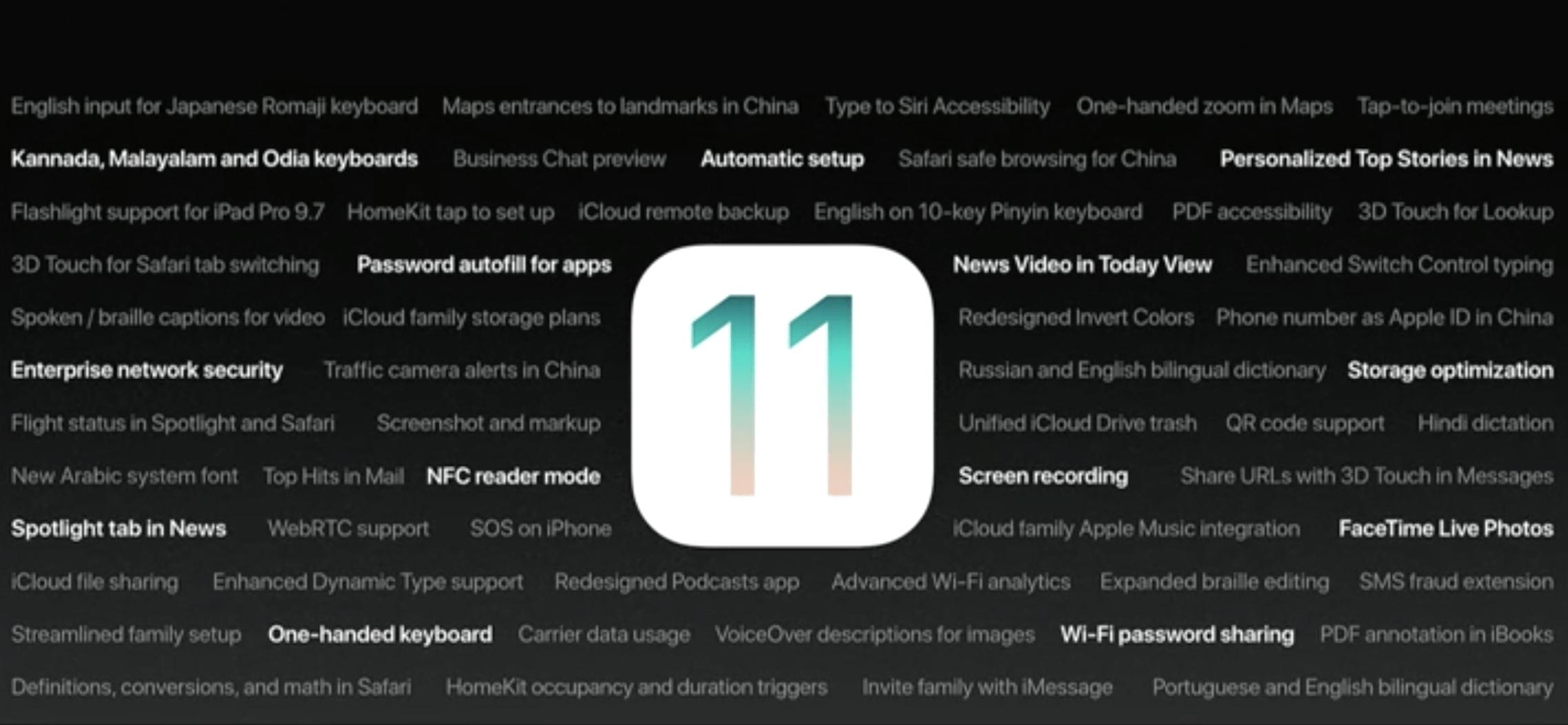 iOS 11 WWDC Hero