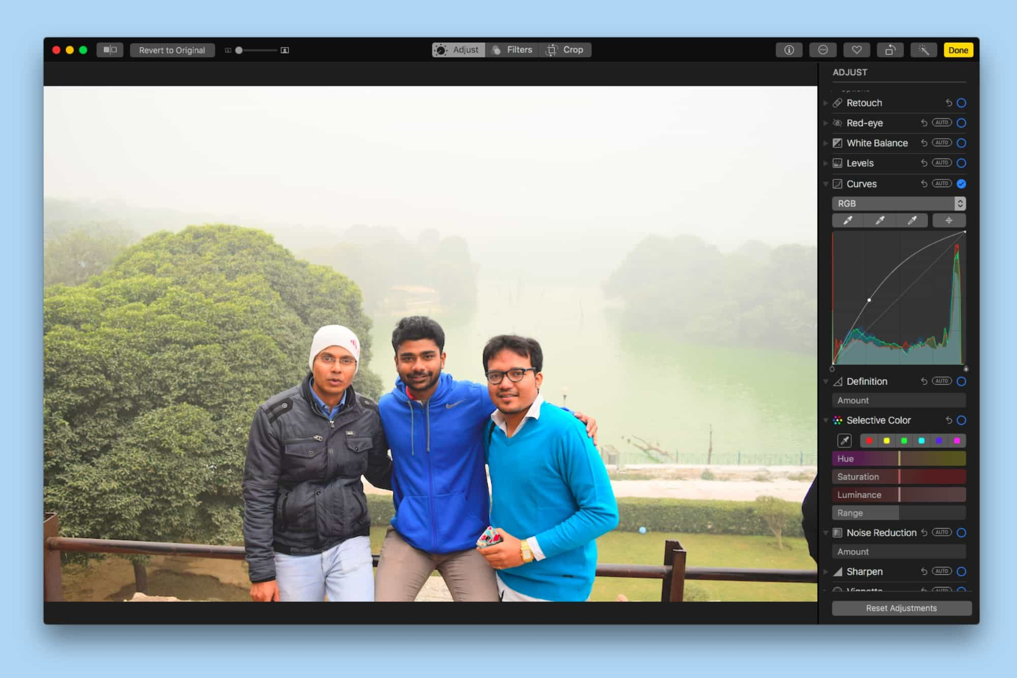 new editing tools in Photos