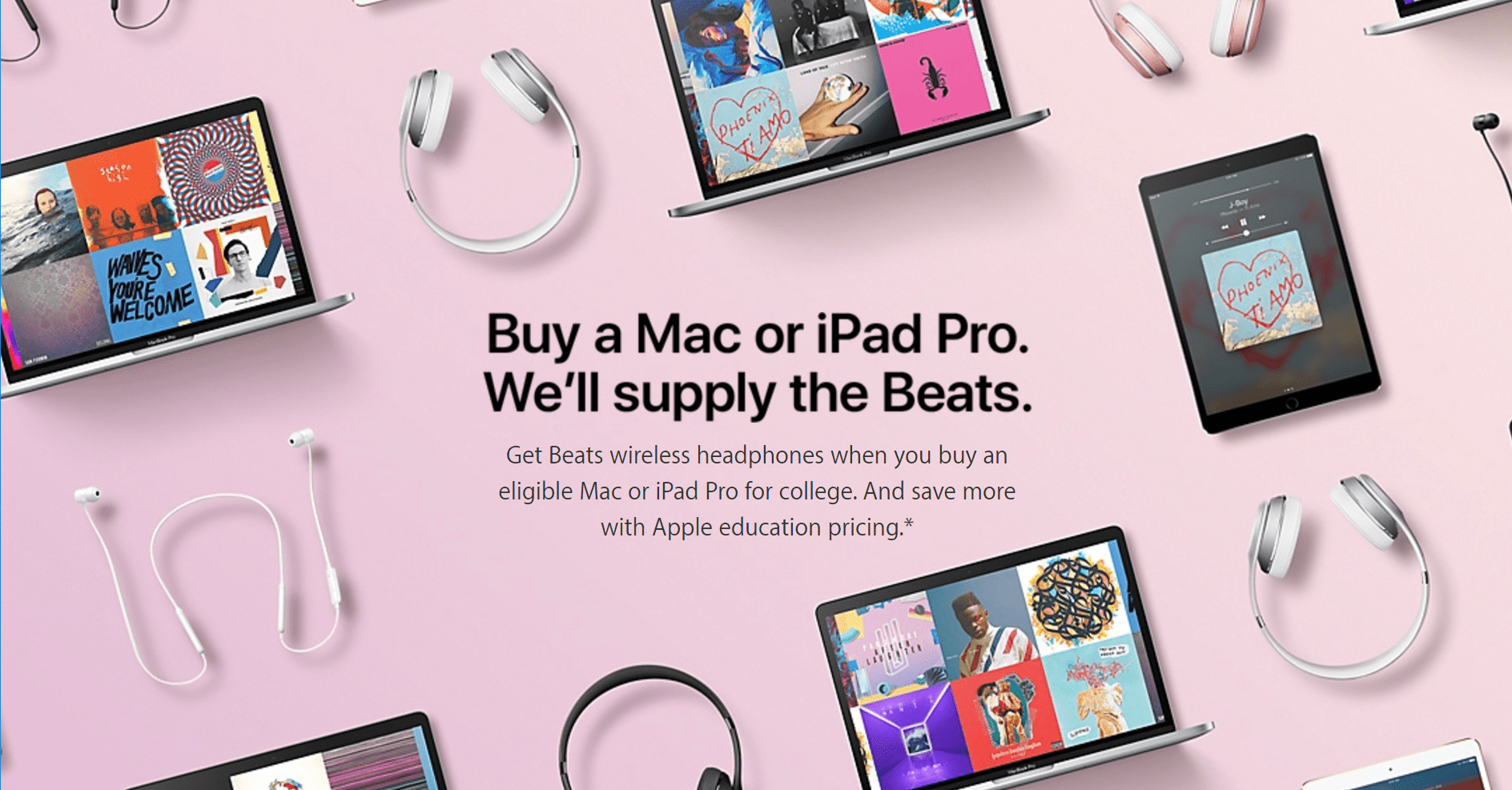 Apple Offers Free Beats In Latest Back To School Promo