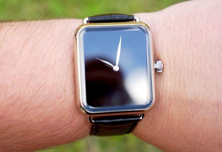 H. Moser Swiss Alp Zzzz, an Apple Watch Clone