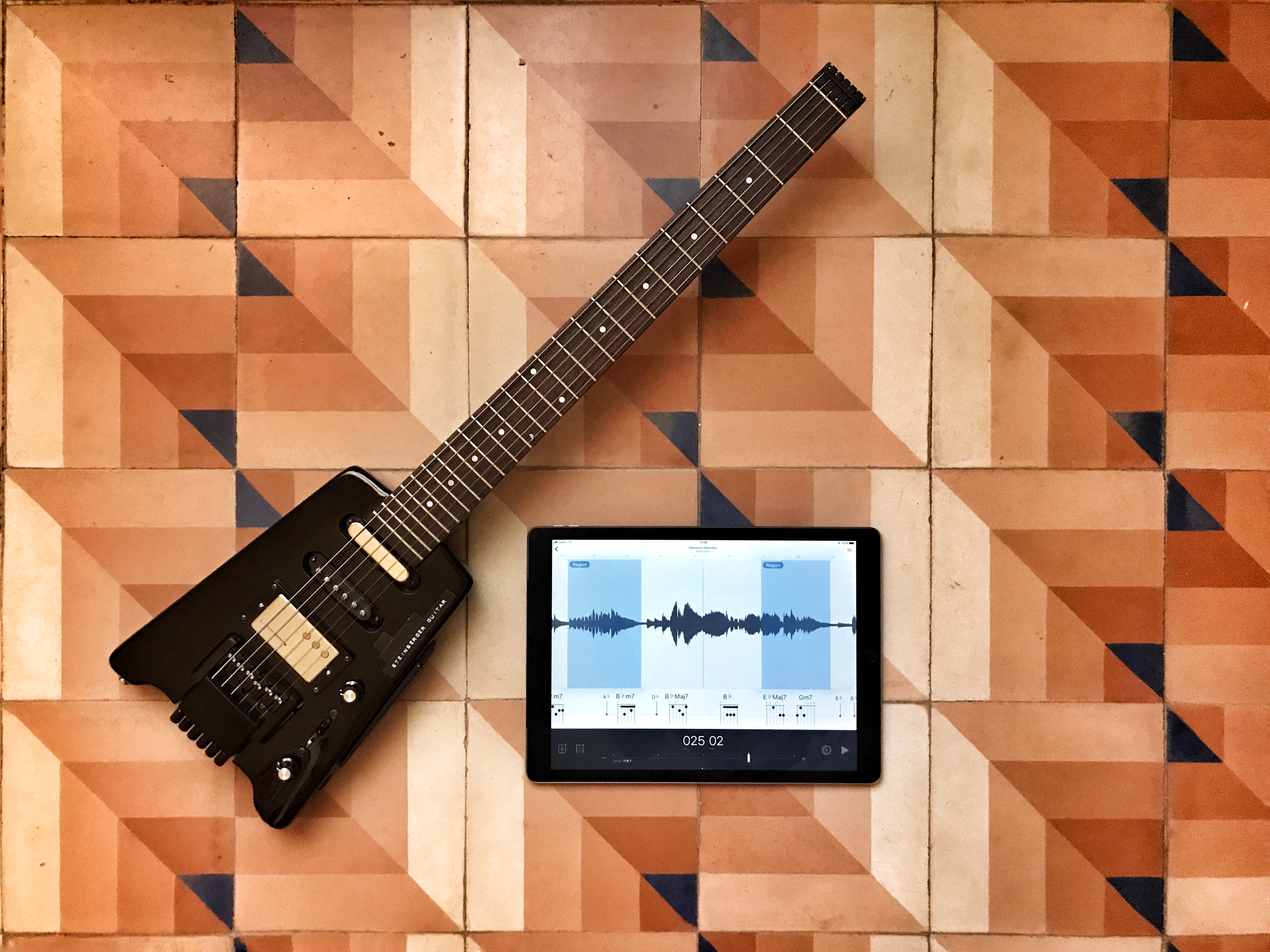 Capo Touch Steinberger iPad