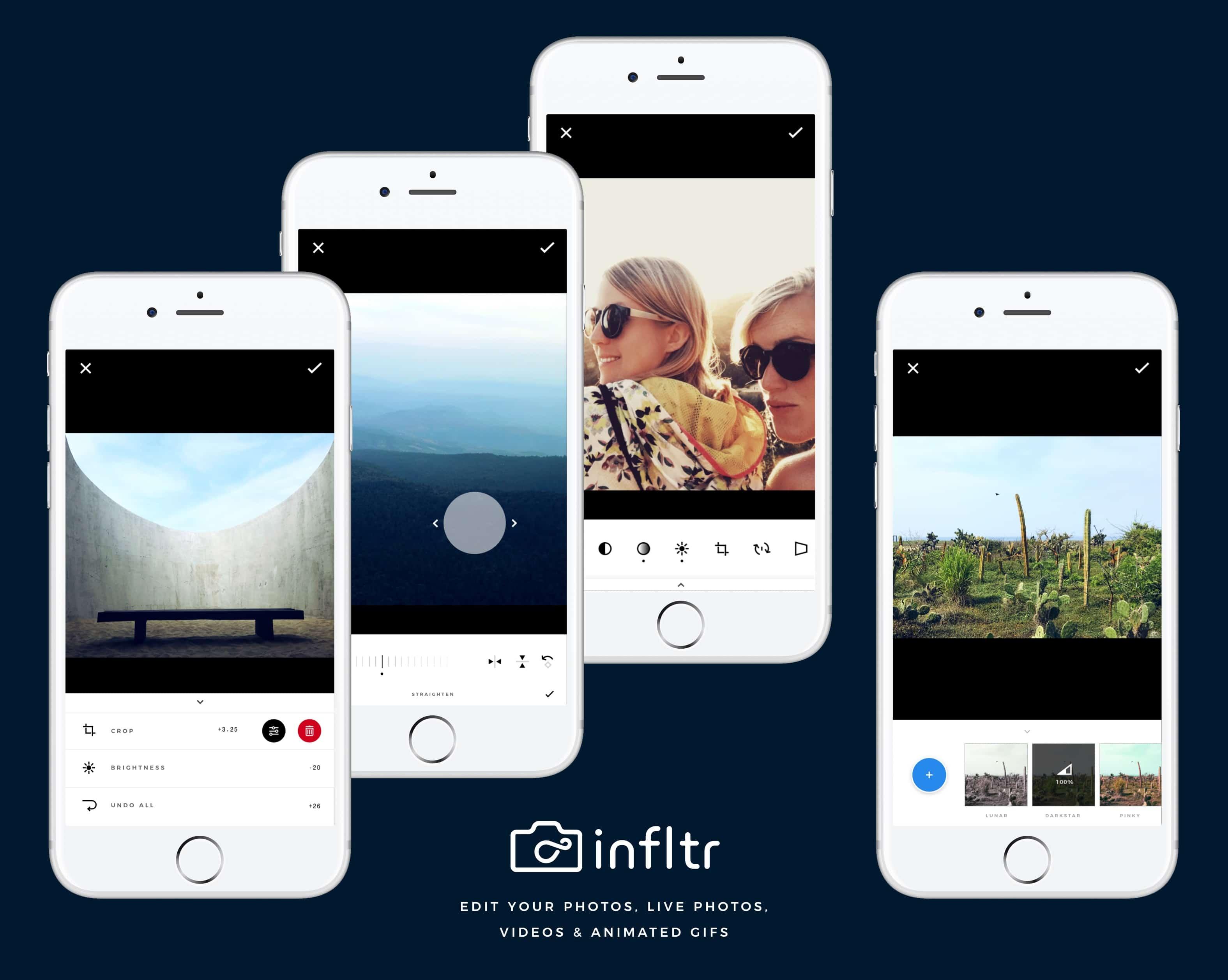 Infltr iPhone